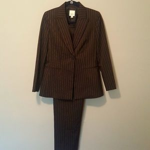 Anne Klein Fully Lined Blazer and Pant Suit